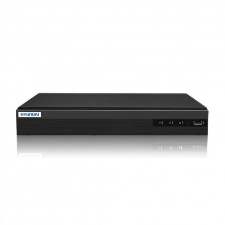 NVR IP da 4 canali - H265 - 4 porte PoE+