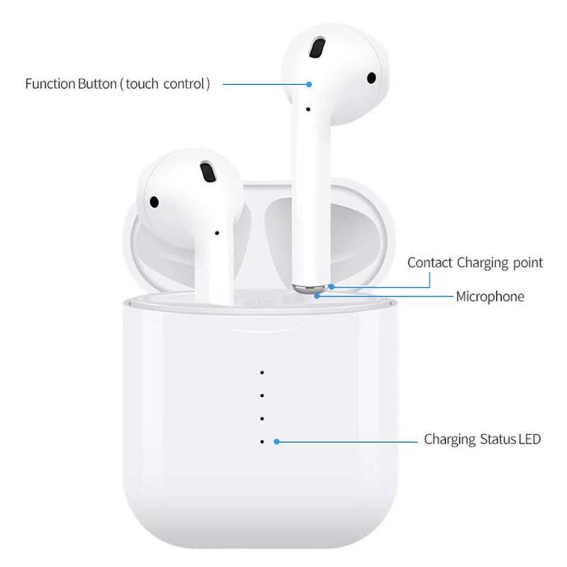 Cuffie i10TWS ,Auricolari Bluetooth v5.0, 2 Microfoni HD Incorporati