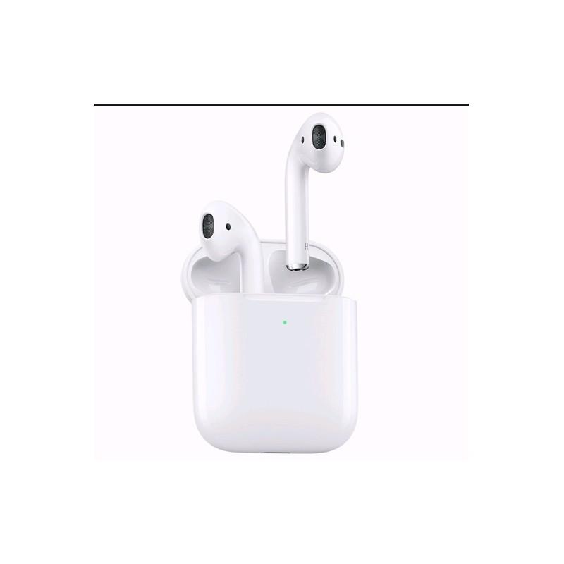 Cuffie Bluetooth Airpods 2 con ricarica wireless