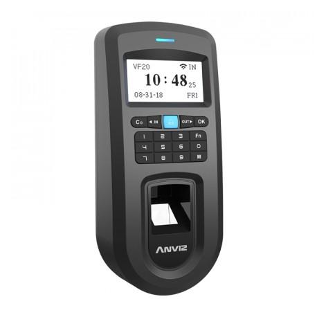 Lettore biometrico autonomo Anviz di impronte dattilari e RFID con tastiera
