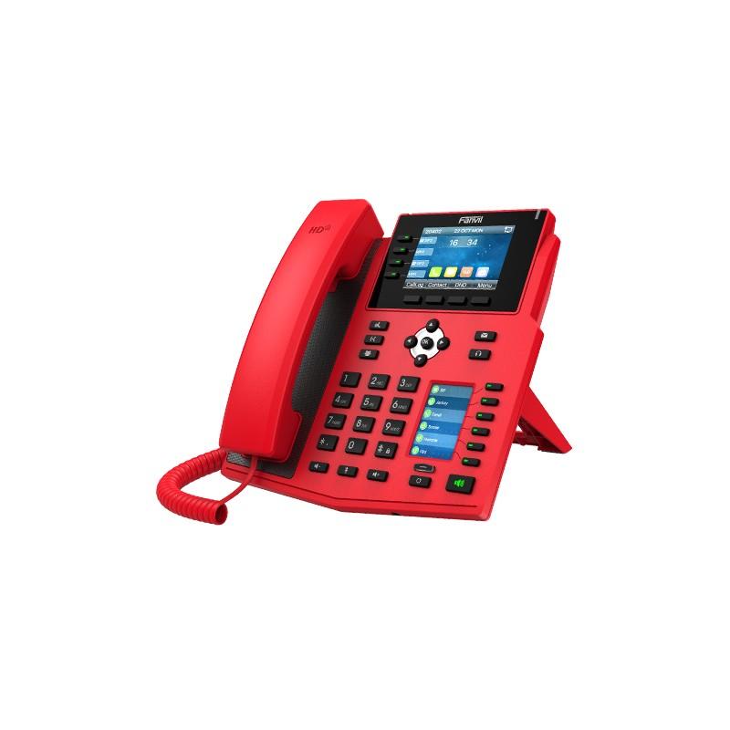 TELEFONO FANVIL X5U-R GIGABIT