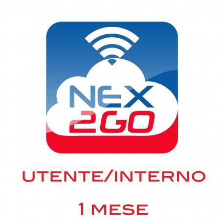 NEX2GO CLOUD PBX ADDON PER 1 UTENTE/EXTENSION durata 1 MESE
