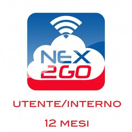 NEX2GO CLOUD PBX ADDON PER 1 UTENTE/EXTENSION durata 12 MESI