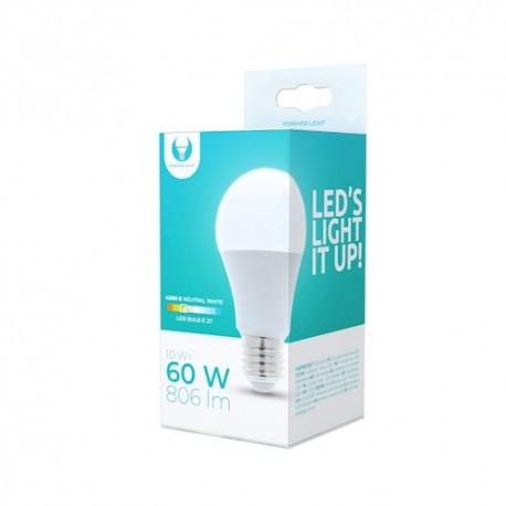 LED bulb E27 A60 10W 230V 4500K 806lm