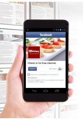 Configurazione Facebook WIFI